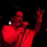Sian Evans, solista Kosheen in concert in Club Panic Bucuresti pe 13 octombrie 2012