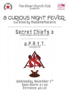 Concert Secret Chiefs 3 și a.P.A.t.T.