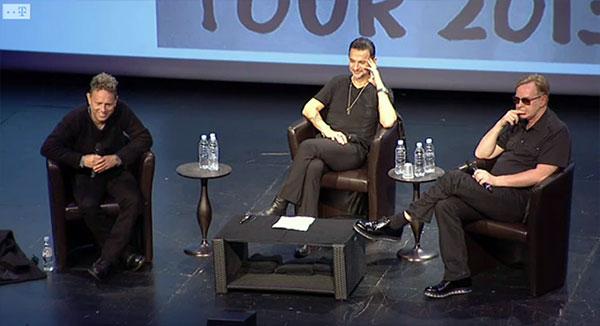 Depeche Mode a anuntat turneul din 2013 in cadrul unei conferinte de presa de la Paris