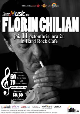 Florin Chilian la Hard Rock Cafe