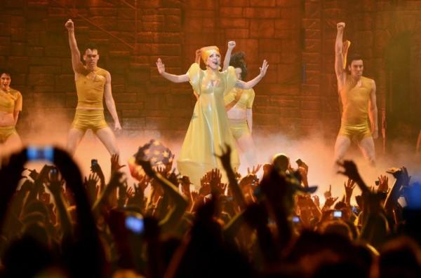 Lady Gaga in concert la Bucuresti pe 16 august 2012