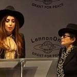 Lady Gaga și Yoko Ono