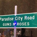 Paradise City Road - Guns N' Roses - Las Vegas