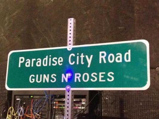 Paradise City Road - Guns N' Roses - Las Vegas