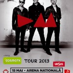 Concert Depeche Mode pe 15 mai la Arena Nationala