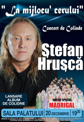 Ștefa Hrușcă - Afiș Concert Sala Palatului 2012