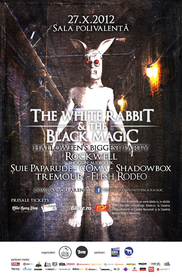 The White Rabbit and The Black Magic - Make a Wish la Sala Polivalentă