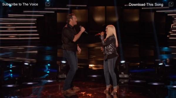 Christina Aguilera & Blake Shelton