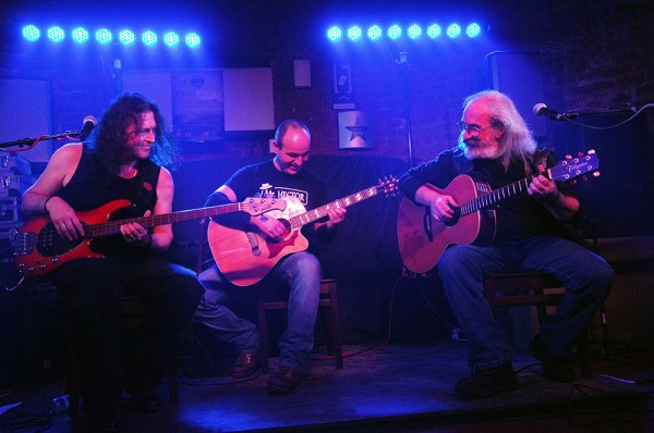 Dixie Krauser, Horea Crisovan și Ilie Stepan