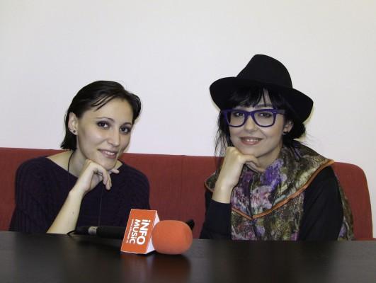 Dupa interviu la InfoMusic, Alexandrina Hristov si Alexandra Necula