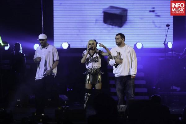 Loredana alături de BUG Mafia pe scena Sălii Palatului