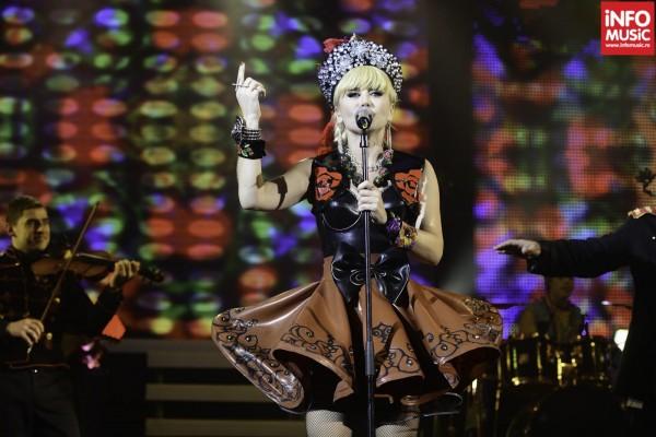 Loredana in concert la Sala Palatului pe 25 noiembrie 2012