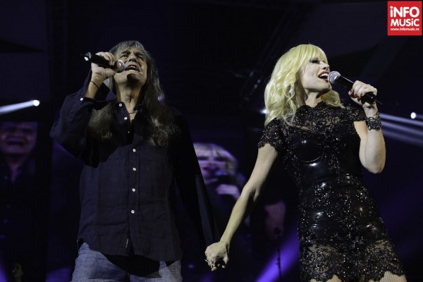 Cristi Minculescu si Loredana au cantat impreuna melodia Strada ta