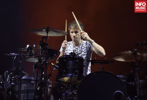 Dominic Howard, MUSE, in concert la Praga pe 22 noiembrie 2012