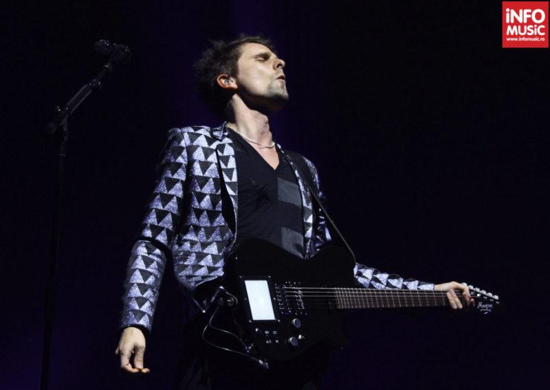 Matthew Bellamy, MUSE, in concert la Praga pe 22 noiembrie 2012