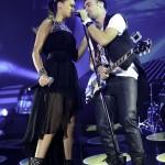 Antonia si Cornel Ilie in concertul VUNK de la Sala Polivalenta