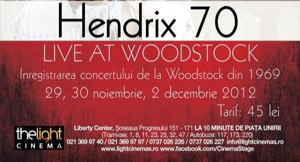 Jimi Hendrix - Live la Woodstock