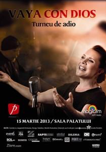 Turneul de adio Vaya con Dios - poster