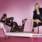 Rihanna și Kate Moss - nud în V magazine