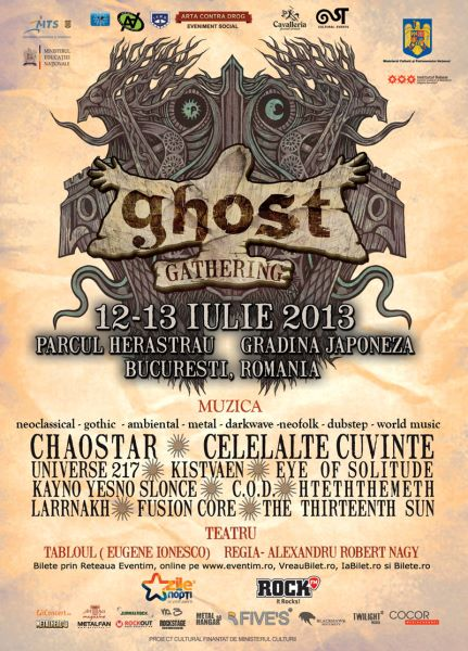 Poster eveniment Ghost Gathering 2013