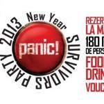 Afis Revelion 2013 Panic