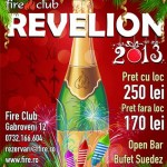 Revelion 2013 in club Fire