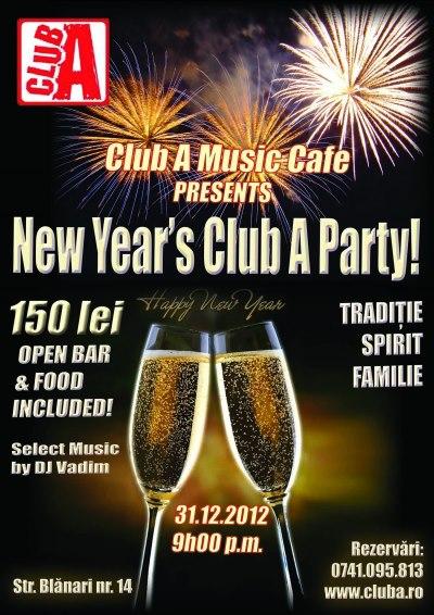 Revelion 2013 Club A