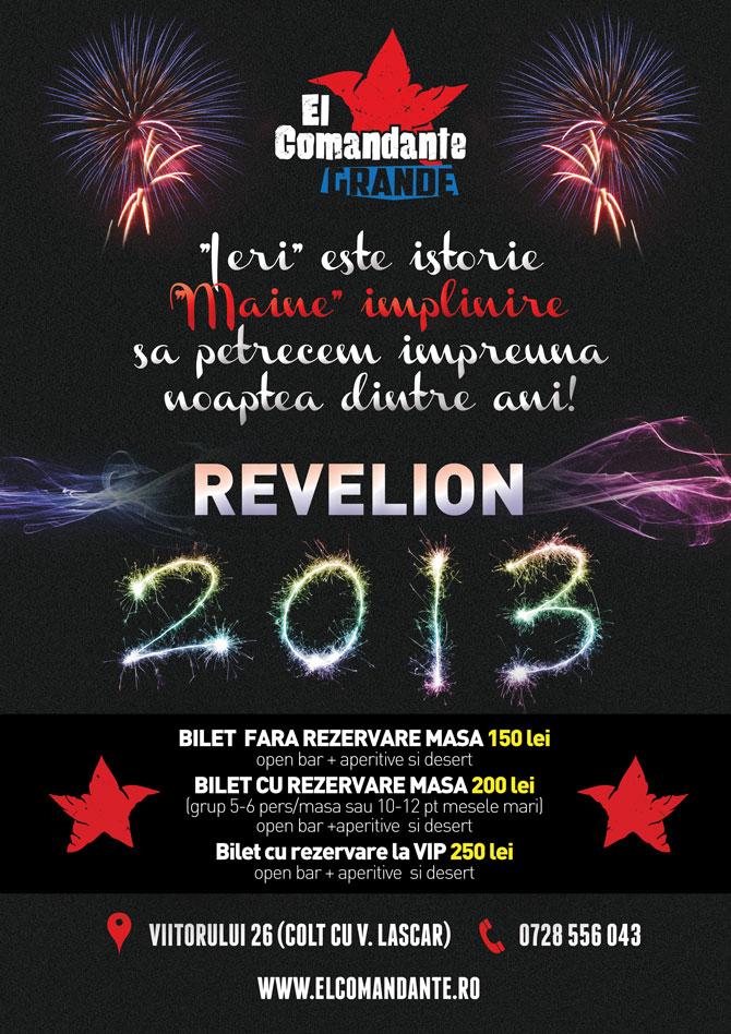 Revelion 2013 El Comandante Grande