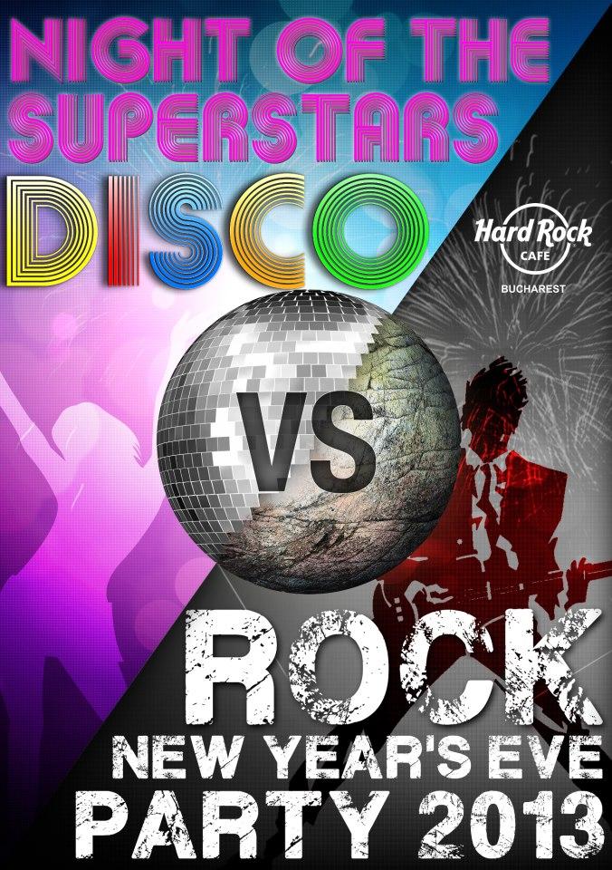 Revelion 2013 in Hard Rock Cafe
