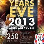 Revelion 2013 in club Mojo