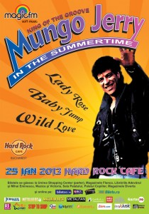 Poster concert Mungo Jerry