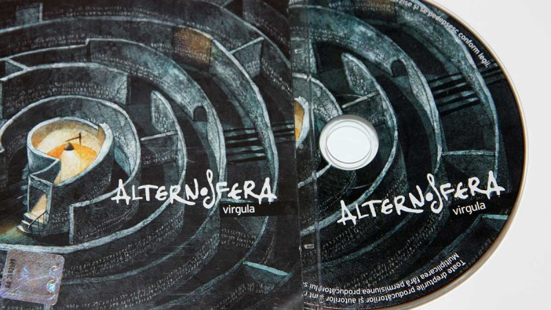 Albumul Alternosfera - Virgula