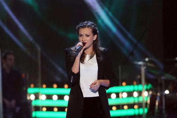 Ioana Bianca Cristea live la Vocea Romaniei