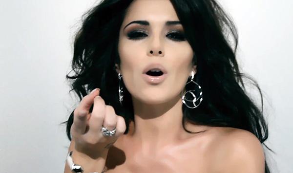 Cheryl Cole - Secventa din videoclipul Ghetto Baby