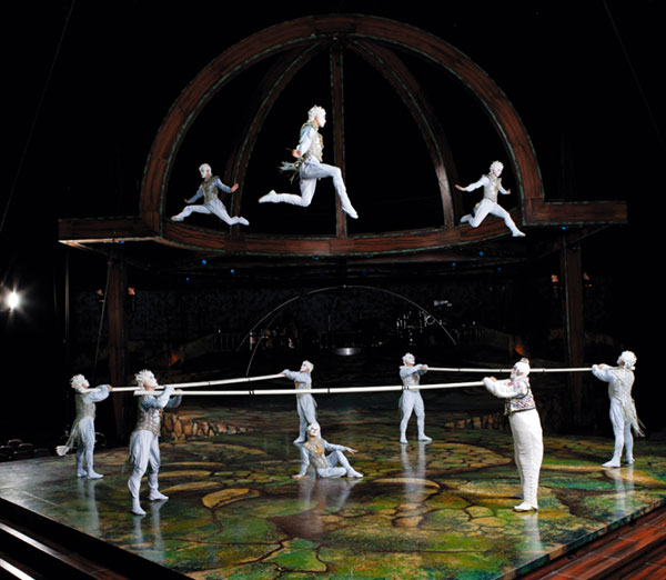 Cirque du soleil - Alegria - numărul Barele rusești