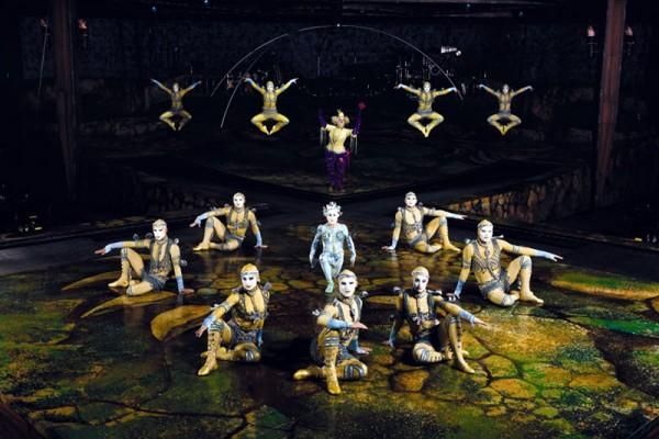 Cirque du soleil - Alegria - Power Track