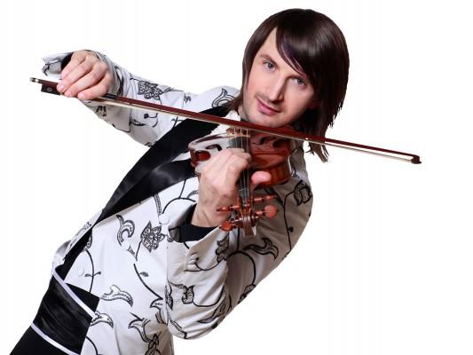 Edvin Marton si vioara sa Stradivarius