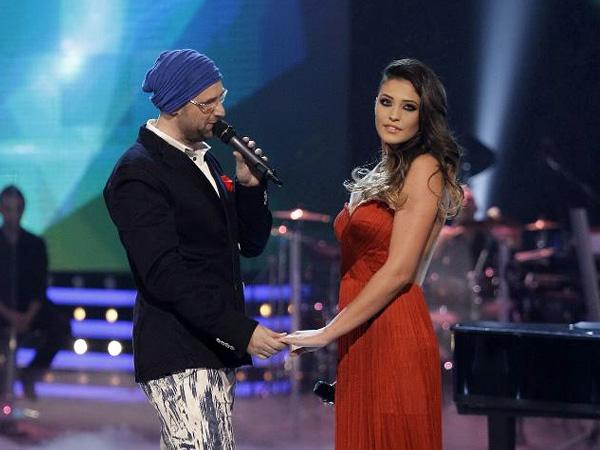 Tibi Scobiola în duet cu Antonia în finala Vocea României