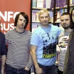 Trupa Alternosfera: Sergiu Aladin, Marcel Bostan, Anatolii Pugaci, Marin Nicoară, Vicosh