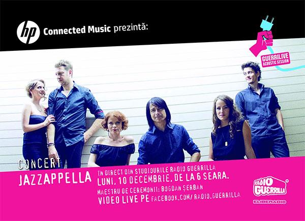Jazzappella la Radio Guerrilla