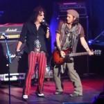 Johnny Depp și Alice Cooper (Live în Phoenix, 8 decembrie 2012)