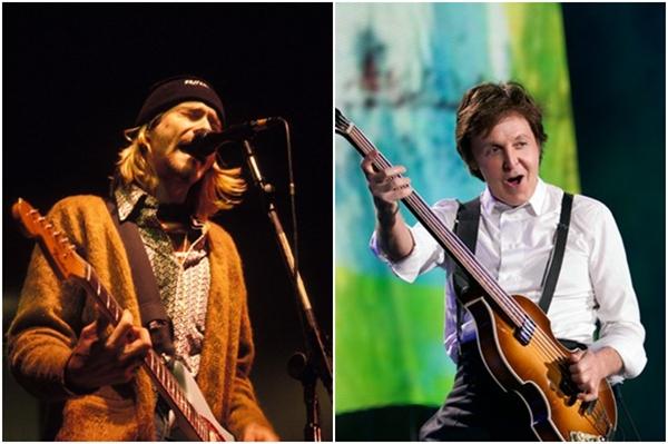 Kurt Cobain / Paul McCartney