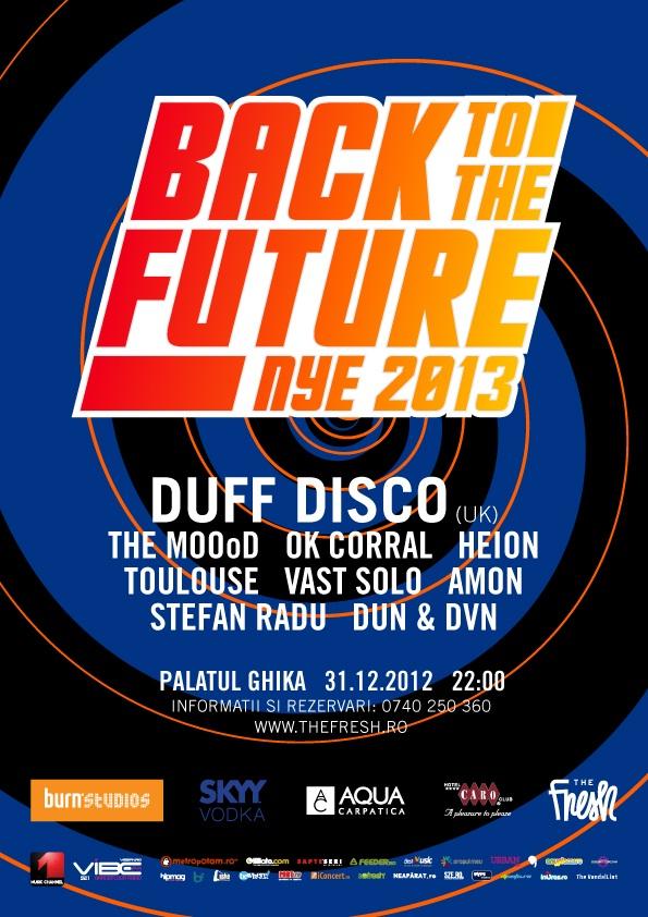 Revelion 2013 - Back to the future la Palatul Ghika