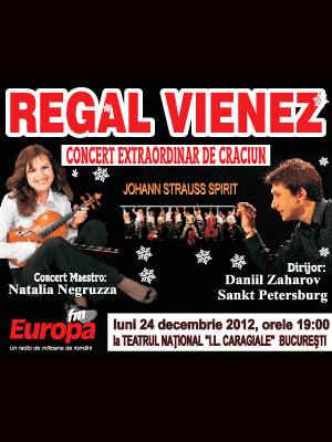 Regal Vienez - Concert extraordinar de Crăciun la Teatrul Naţional București