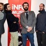 Robin and the Backstabbers la InfoMusic (Andrei Fântănă, Vladimir proca, Robin, Radu Moldovan)