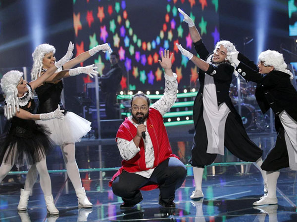 Vizi Imre în interpretarea personală din semifinala Vocea României