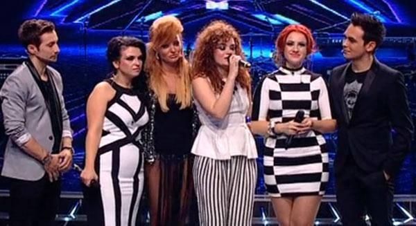 Trupa RED a fost eliminata din concursul X Factor