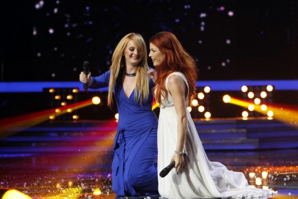 Natalia Selegean in duet cu Elena Gheorghe la finala X Factor