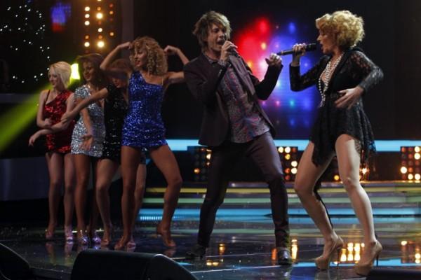 Tudor Turcu si Delia in duet la X Factor