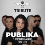 Afis concert Publik Club Tribute februarie 2013
